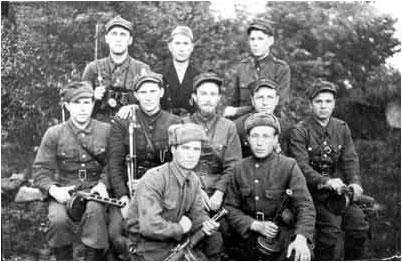 Партизаны армии людовой и советские