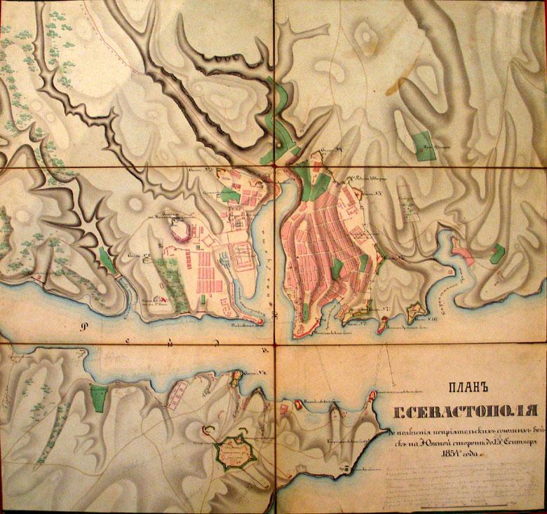 План города Севастополя до