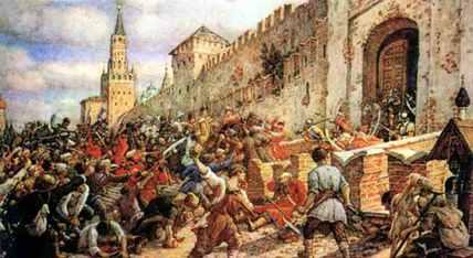 12 июня.365 лет соляному бунту в Москве  - фото 1