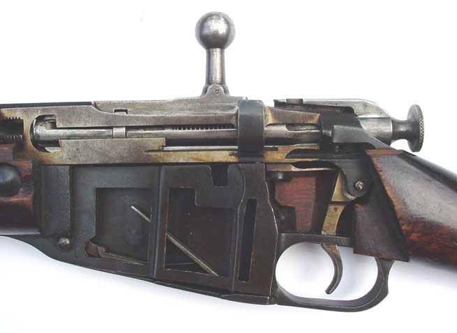 Схема затвора винтовки Мосина