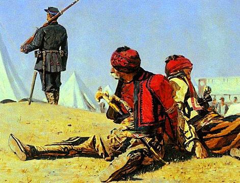 На кавказском фланге восточной войны
