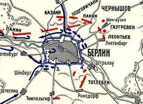 Взятие Берлина русскими