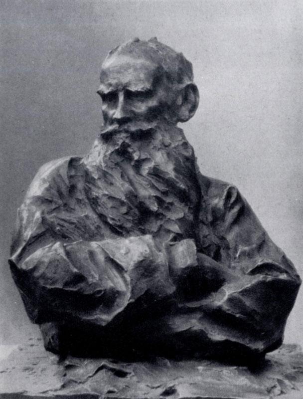 Лев Толстой позирует скульптору Паоло Трубецкому: Русская ...