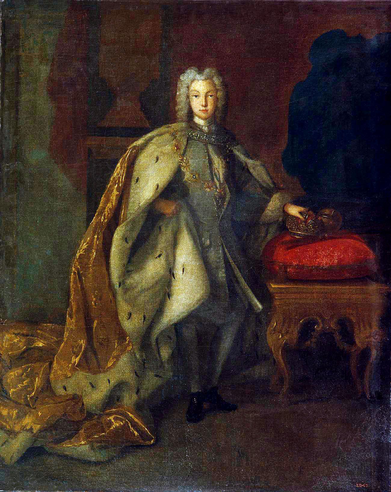 Большой парадный портрет императора