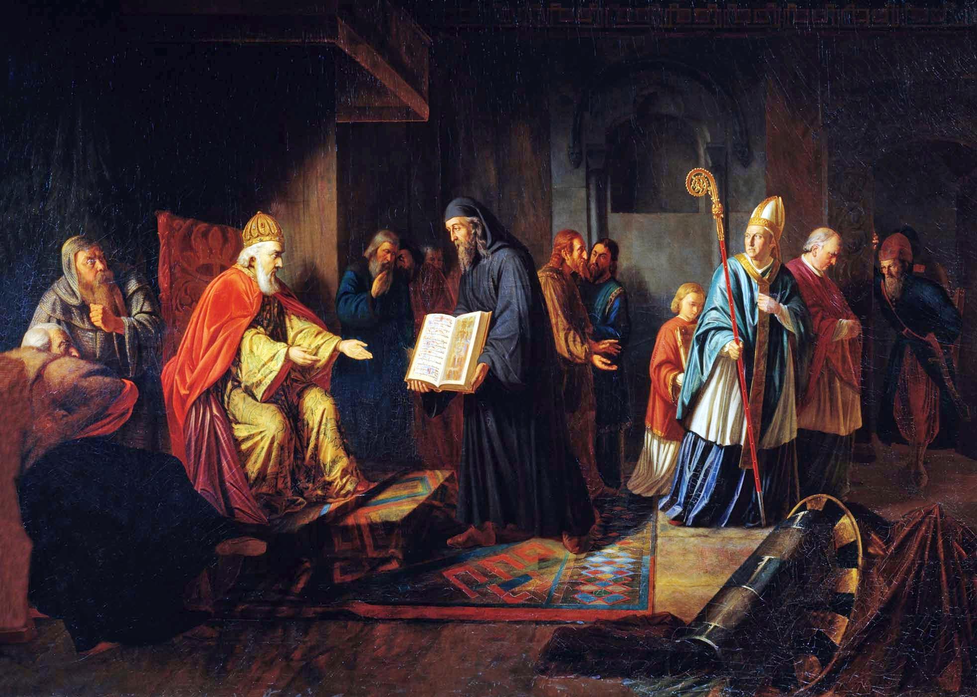 История картины живопись